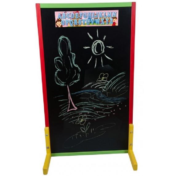 Detská kriedová tabuľa - farebná