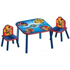 Detský stôl so stoličkami Tlapkova patrola Preview