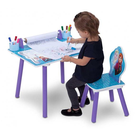Detský kresliaci stôl Frozen