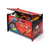 Drevená truhla na hračky Cars 2