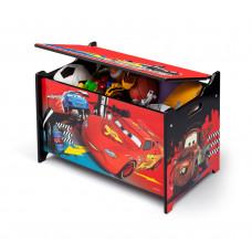 Drevená truhla na hračky Cars 2 Preview
