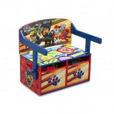 Detská lavica s úložným priestorom Tlapkova patrola Preview