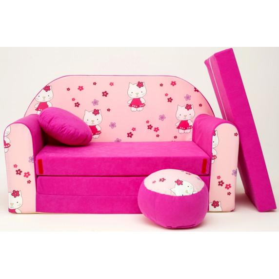 Detská pohovka Hello Kitty