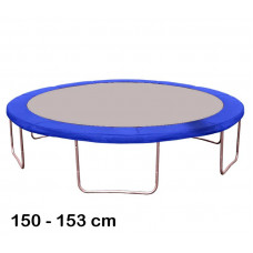 Kryt pružín na trampolínu s celkovým priemerom 150 cm - modrý Preview