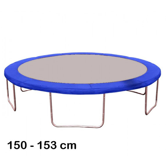 Kryt pružín na trampolínu 150 cm - modrý