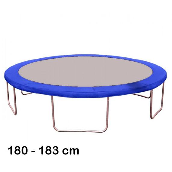Kryt pružín na trampolínu 180 cm - modrý