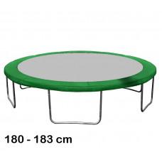 Kryt pružín na trampolínu 180 cm - tmavozelený Preview