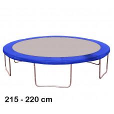 Kryt pružín na trampolínu 220 cm - modrý Preview