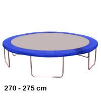 Kryt pružín na trampolínu  s celkovým priemerom 275 cm - modrý