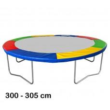 Kryt pružín na trampolínu 305 cm - štvorfarebný  Preview