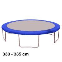 Kryt pružín na trampolínu s celkovým priemerom 335 cm - modrý