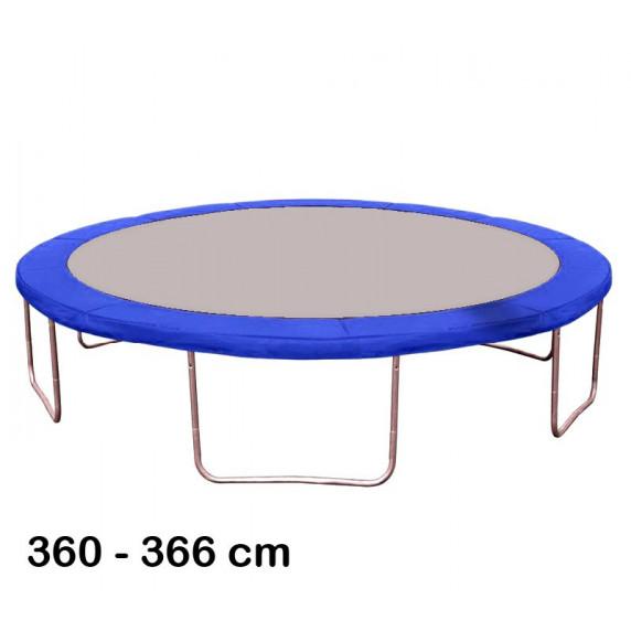 Kryt pružín na trampolínu s celkovým priemerom 366 cm - modrý