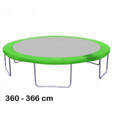 Kryt pružín na trampolínu s celkovým priemerom 366 cm - svetlozelený