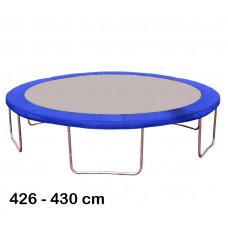 Kryt pružín na trampolínu s celkovým priemerom 430 cm - modrý Preview