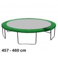 Kryt pružín na trampolínu s celkovým priemerom 460 cm - tmavozelený Preview