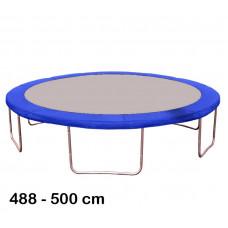 Kryt pružín na trampolínu s celkovým priemerom 500 cm - modrý Preview
