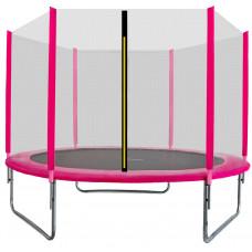 AGA SPORT TOP trampolína 180 cm s vonkajšou ochrannou sieťou ružová Preview