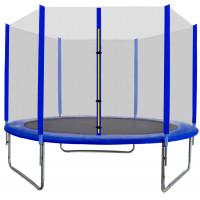 AGA SPORT TOP trampolína 180 cm s vonkajšou ochrannou sieťou modrá
