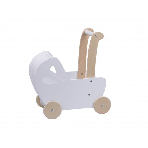 Drevený kočík pre bábiky Aga4Kids Emily