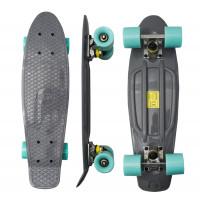 Skateboard MR6015 Aga4Kids - sivý