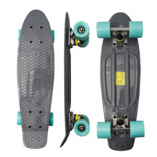 Skateboard MR6015 Aga4Kids - sivý Preview