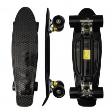 Skateboard MR6016 Aga4Kids - čierny Preview