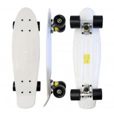 Skateboard MR6017 Aga4Kids - biely Preview