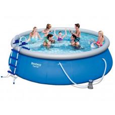 BESTWAY Fast Set samonosný rodinný bazén s kartušovou filtráciou 457 x 122 cm 57289 Preview