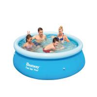 BESTWAY Fast Set samonosný rodinný bazén 244 x 66 cm 57265
