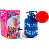 Aga4Kids Helium do balónků PARTY 10 MIX Green/Blue