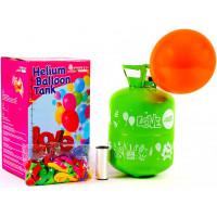 Hélium do balónikov PARTY 50 MIX Aga4Kids - zelený/modrý