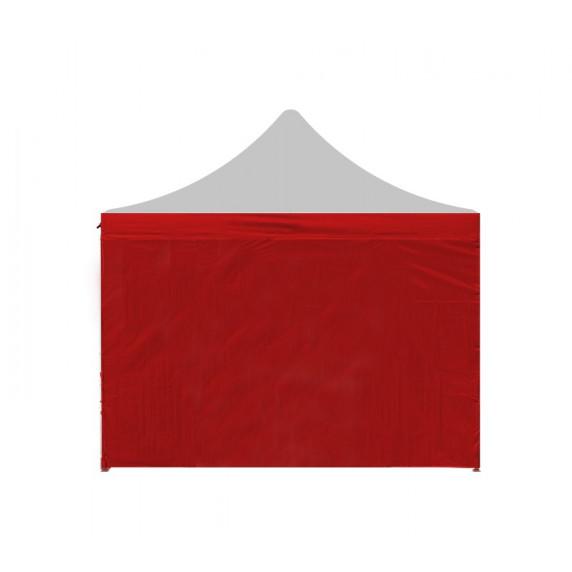 Aga Bočnica k altánku PARTY 2x2 m - červená