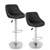 Aga Barová stolička 2 kusy MR2000BLACK - Čierna