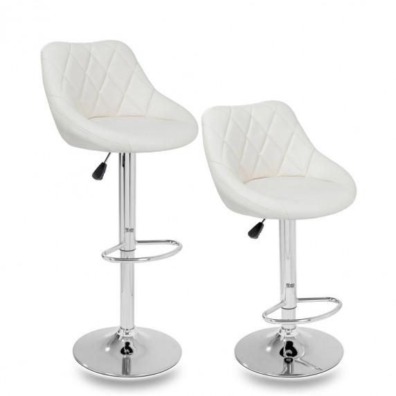 Aga Barová stolička 2 kusy MR2000BEIGE - Béžová