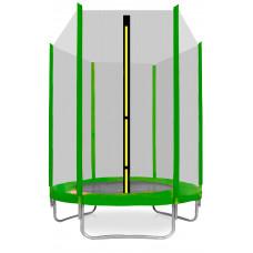 AGA SPORT TOP trampolína 150 cm s vonkajšou ochrannou sieťou svetlozelená Preview