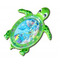 Detská nafukovacia vodná podložka MRWM06 Aga4Kids - korytnačka zelená