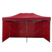 AGA predajný stánok 3S POP UP 3x6 m Red
