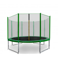 AGA SPORT PRO Trampolína 335 cm Green s vonkajšou ochrannou sieťou Preview