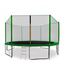 AGA SPORT PRO Trampolína 430 cm Green s vonkajšou ochrannou sieťou + rebrík + vrecko na obuv Preview