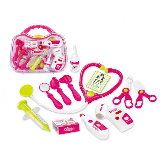 Aga4Kids Doktorský kufrík DOCTOR pink