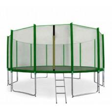 AGA SPORT PRO Trampolína 518 cm Green s vonkajšou ochrannou sieťou  Preview