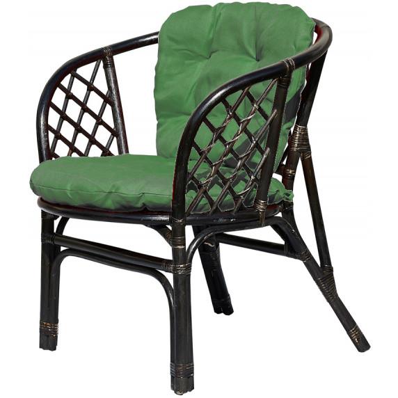 AGA ratanová zostava BAHAMA set čierno/zelený