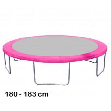 Kryt pružín na trampolínu 180 cm - ružový