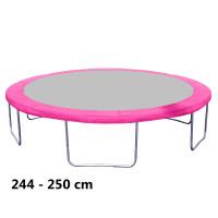 Kryt pružín na trampolínu s celkovým priemerom 250 cm - ružový