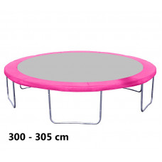 Kryt pružín na trampolínu 305 cm - ružový