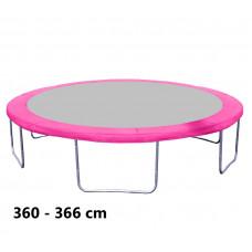 Kryt pružín na trampolínu 366 cm - ružový