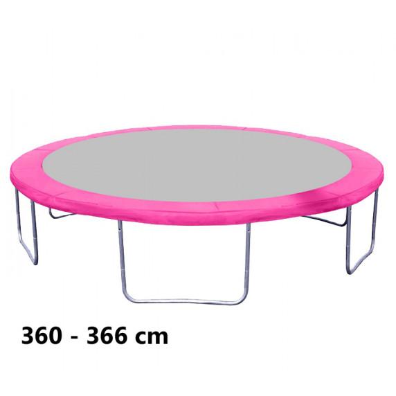 Kryt pružín na trampolínu s celkovým priemerom 366 cm - ružový