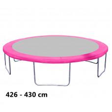 Kryt pružín na trampolínu 430 cm - ružový
