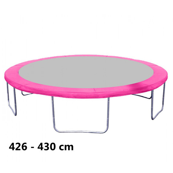 Kryt pružín na trampolínu s celkovým priemerom 430 cm - ružový