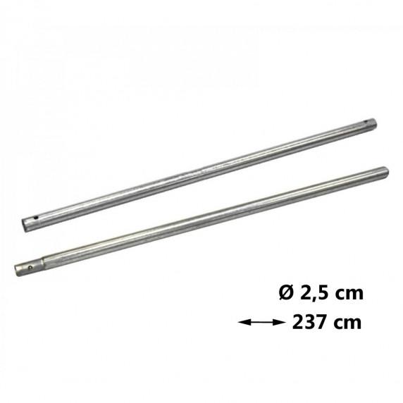 AGA náhradná tyč na trampolínu Ø 2,5 cm - dĺžka 237 cm